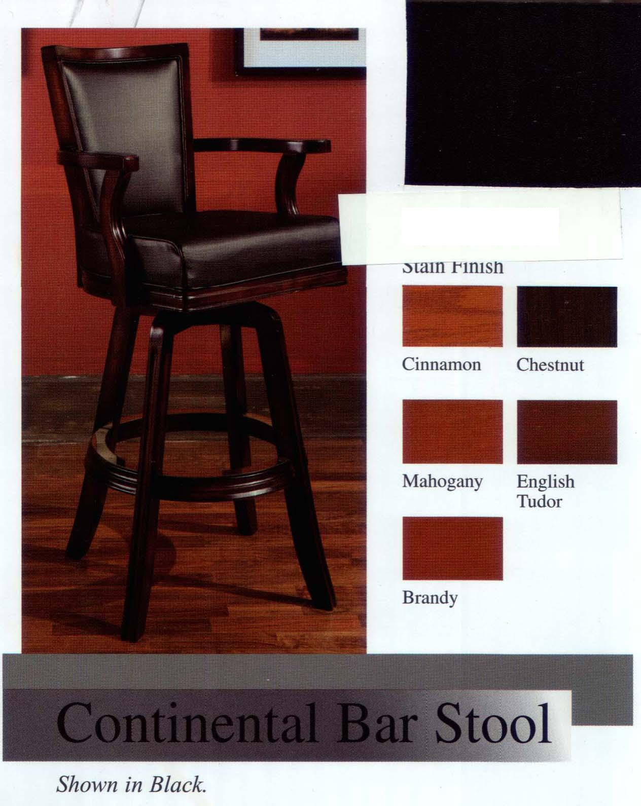 continental bar stool